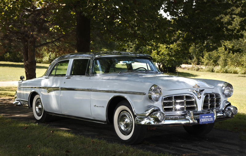 1955 Chrysler Crown Imperial http://tomstrongman.com/1955-chrysler-imperial/