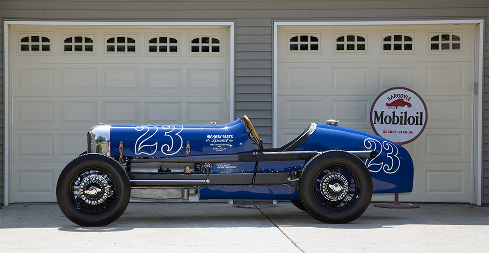 1933 Marmon Indy re-creation :: Tom Strongman