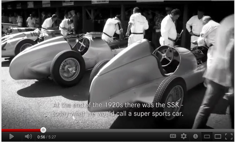 The Silver Arrows at Goodwood