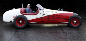 Larry Urey's track roadster